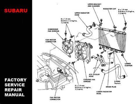 auto repair manual online 1998 subaru legacy seat position control subaru legacy 1994 1995 1996 1997 1998 1999 service repair workshop