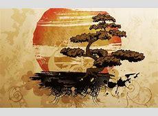 Bonsai Illustration Free vector in Encapsulated PostScript