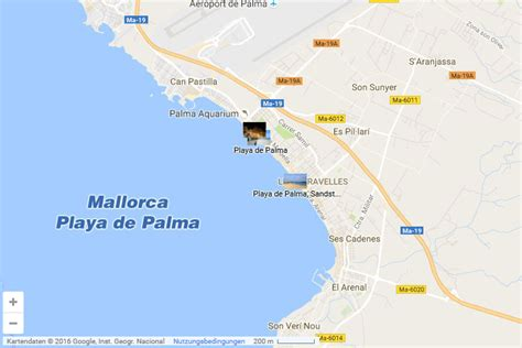 mallorca karte playa de palma kleve landkarte