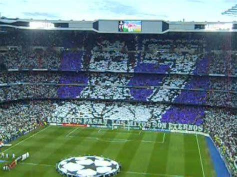 mosaico ultras sur  juanito real madrid bayern youtube