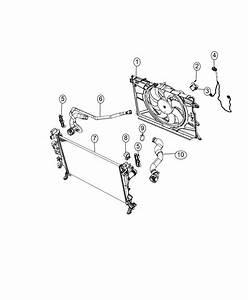 2016 Jeep Renegade Resistor  Radiator Fan  Export  Air