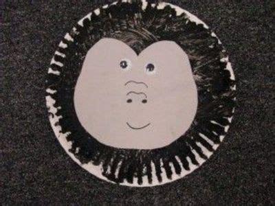 letter  crafts  preschoolers   gorilla crafts
