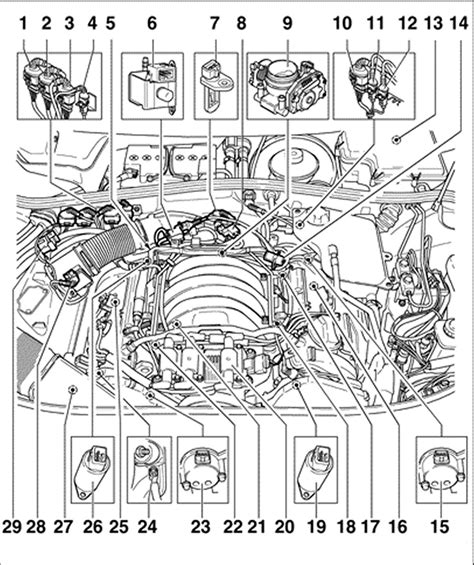 2004 Vw Passat Engine Diagram by Volkswagen Passat Where Is The Brain Be Located At On The