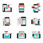 Mobile App Icons Vector Icon Apps Services