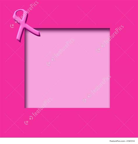 templates pink ribbon scrapbook stock illustration