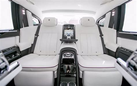 Rolls Royce Phantom Series 2 White Interior.