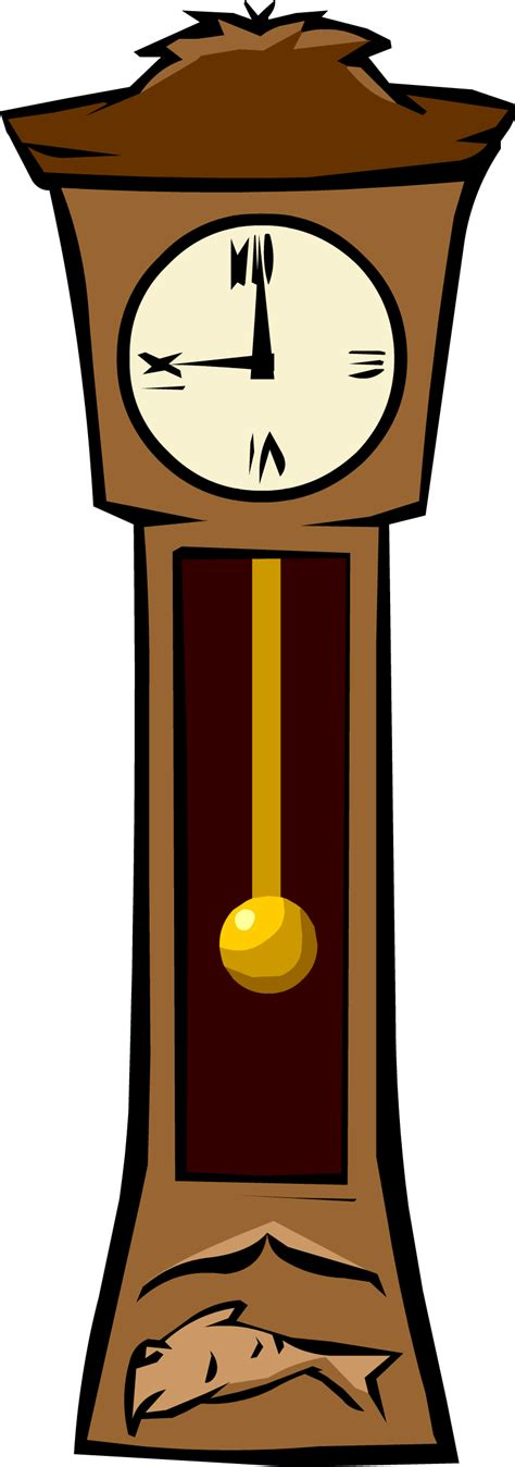 Cartoon characters isolated on white background. Grandfather Clock | Club Penguin Wiki | FANDOM powered by ...