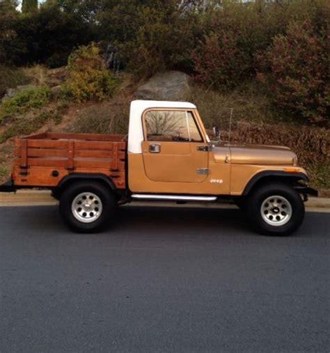 jeep scrambler 4 door buy used 1985 jeep scrambler renegade sport utility 2 door