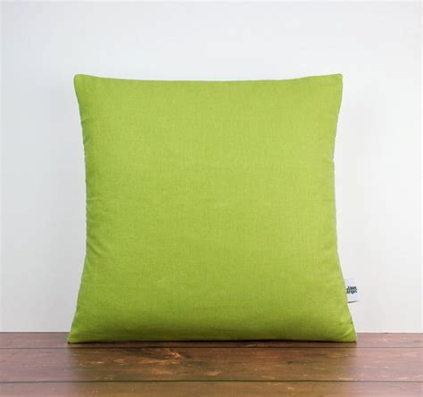 Lime Green Throw Pillows by Green Linen Throw Pillow Lime Green Pillow By