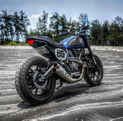 Ducati Scrambler Icon Modification by Ducati Scrambler Mods Cafe Racer Custom Ducati Scrambler
