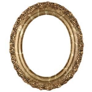 Venice Oval Frame #454 - Champagne Gold