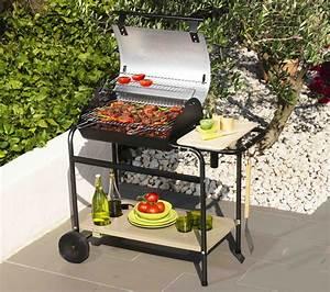 Barbecue Cuve En Fonte : mr bricolage 388438 bbq charbon bois fonte tambora ~ Nature-et-papiers.com Idées de Décoration