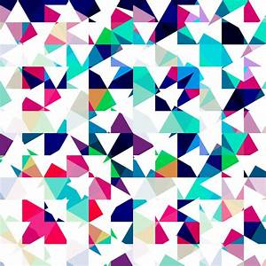 Geometric abstract texture pattern colorful to see similar ...