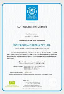 Ecolabelling Certification