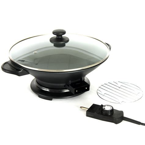 Electric Wok from Global Gourment with heat control
