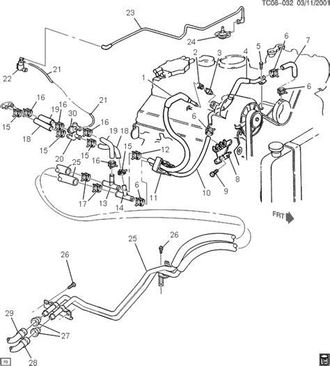 1999 Suburban Heater Hose Diagram by Chevy Heater Hose Diagram 2000 Chevy Silverado Heater