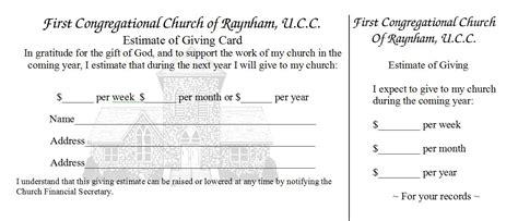 pledge card template best photos of church card templates church invitation card template church business cards