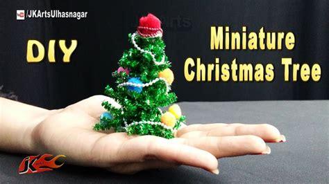 miniature christmas tree diy christmas