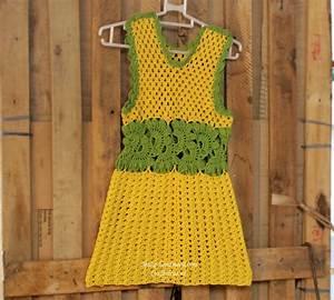 crochet so cute baby dress for summer | make handmade ...
