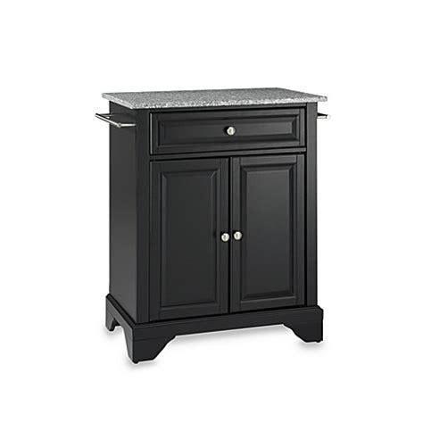 crosley lafayette kitchen island buy crosley lafayette solid granite top portable kitchen 6302
