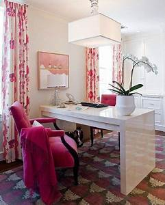 Tips For Adding A Touch Of Pink To Your Office
