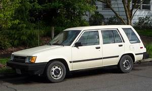 Curbside Classic  1984 Toyota Tercel Wagon  Built For The