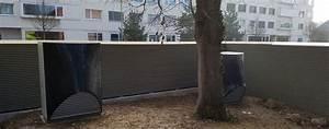 sicht larmschutzwande schallschutzwande www With französischer balkon mit sicht und lärmschutz garten