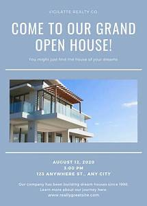 Bar Grand Opening Flyer Customize 79 Real Estate Flyer Templates Online Canva