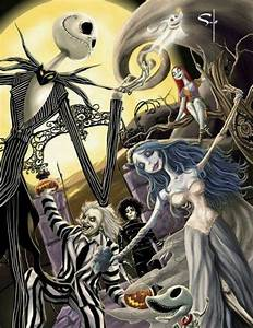   Tim Burtons work great Halloween art piece #Nightmare # ...