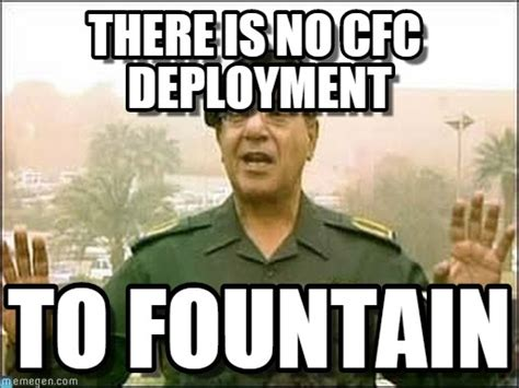 Deployment Memes - there is no cfc deployment on memegen