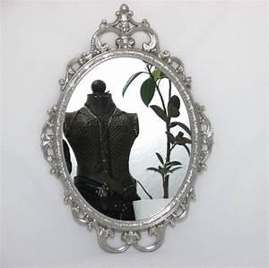 Wandspiegel Silber Antik : wandspiegel metallrahmen deko spiegel silber spiegel barock antik ~ Watch28wear.com Haus und Dekorationen