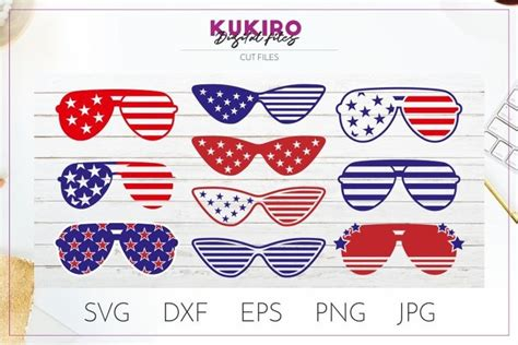 ***file will not have the watermark as pictured. Cat eye/ Aviator Sunglasses SVG 4th Of July cut files ...