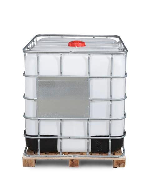 Agitateur cuve 1000l ibc / grv. Cuve Recobulk IBC, palette bois, 1000l, DN 150 x DN 80