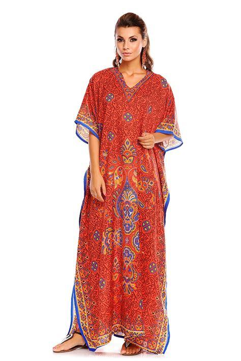 Chintami Kaftan Maxy tribal oversized maxi kimono kaftan tunic kaftan