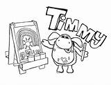 Timmy Coloring Learn Paint sketch template