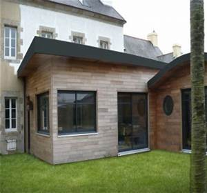 extension de maison en bois la solution pour agrandir With plan maison en longueur 2 extension de maison traditionnelle pour agrandir sa maison