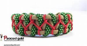 Stitched Caged Solomon Paracord Bracelet