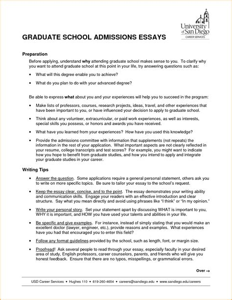 high school entrance essay sample
