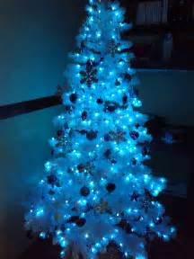 luhivy 39 s favorite things silver white and blue tree