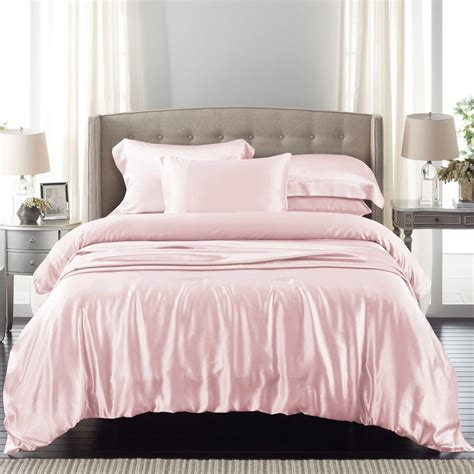Pink Bedding by Light Pink Silk Bed Linen From The Finest Mulberry Silk