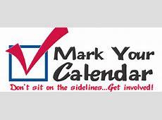 Mark Your Calendar Clip Art Clipartioncom