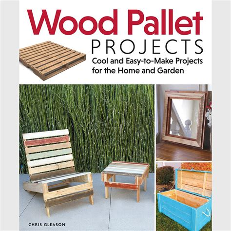 wood pallet projects paperback book rockler woodworking