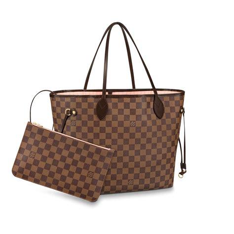 neverfull mm damier ebene canvas handbags louis vuitton