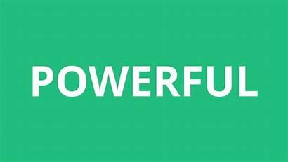 Powerful Pronunciation
