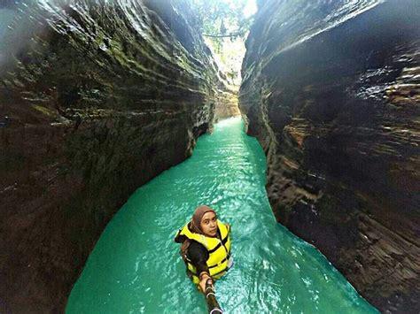 kenalan yuk sama  green canyon  banten curug
