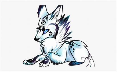 Wolf Anime Clipart Drawings Animated Animal Cartoon
