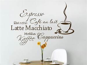 Wandtattoo Küche Bilder : wandtattoo kaffee aroma mit kaffeetasse ~ Sanjose-hotels-ca.com Haus und Dekorationen