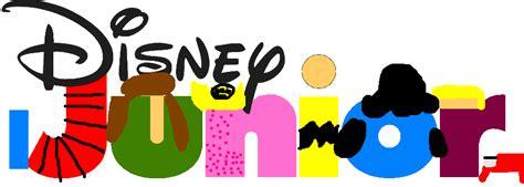 Disney Junior Logo Peanuts Style