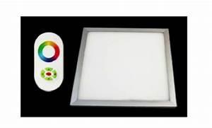 Pavé Led 600x600 : plafonnier dalle pav led rgb changement de couleur ~ Edinachiropracticcenter.com Idées de Décoration