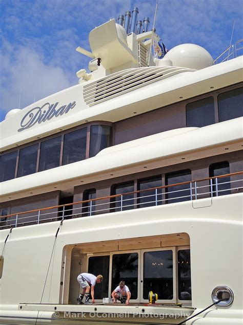 Yacht Work by O Connell Photography Dilbar Crew At Work